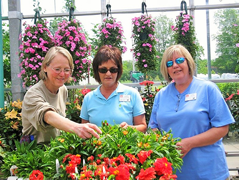 The Allen County Master Gardeners are a non-profit organization and currently receive no financial support from the county or state tax base.